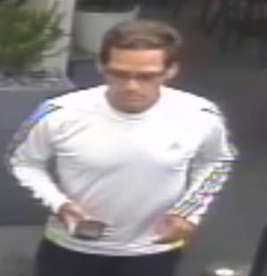 Laguna Beach police suspect this man may have stolen $700 from Nirvana Grille restaurant on Sept. 25, according to a news release.
