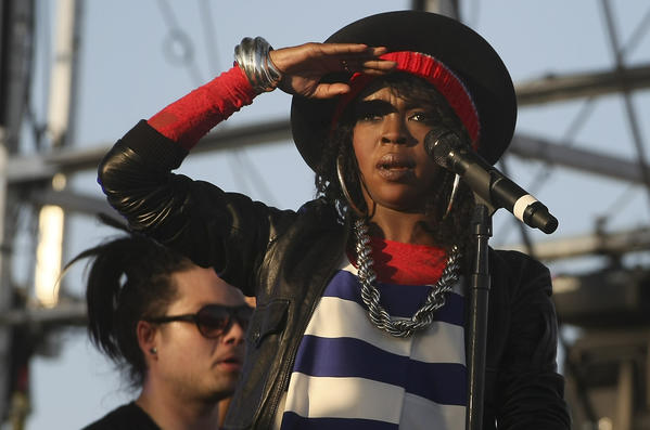 Lauryn Hill at the Coachella Valley Music and Arts Festival at the Empire Polo Grounds in Indio on April 15, 2011.