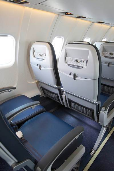 These new seats with thinner backrests will be installed on United planes.
