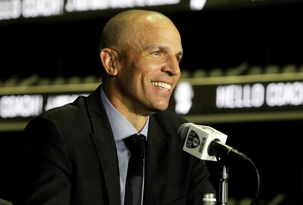 Brooklyn Nets head coach Jason Kidd.