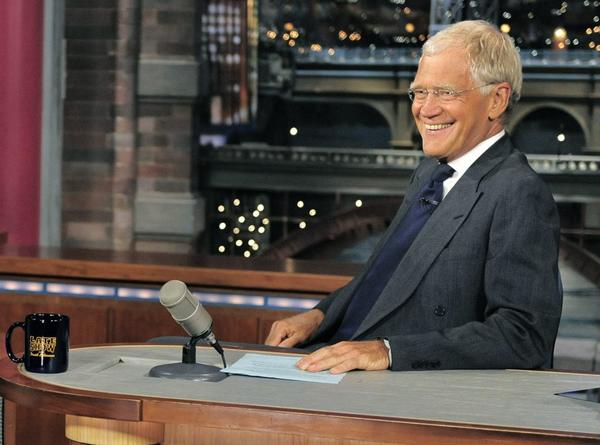A photo of David Letterman.