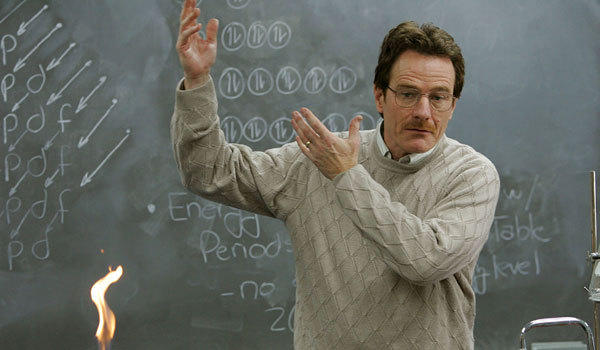 Bryan Cranston played Walter White on the AMC series 'Breaking Bad'