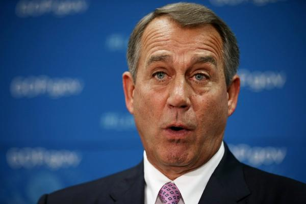 John Boehner tries counting to 10. Will he make it?