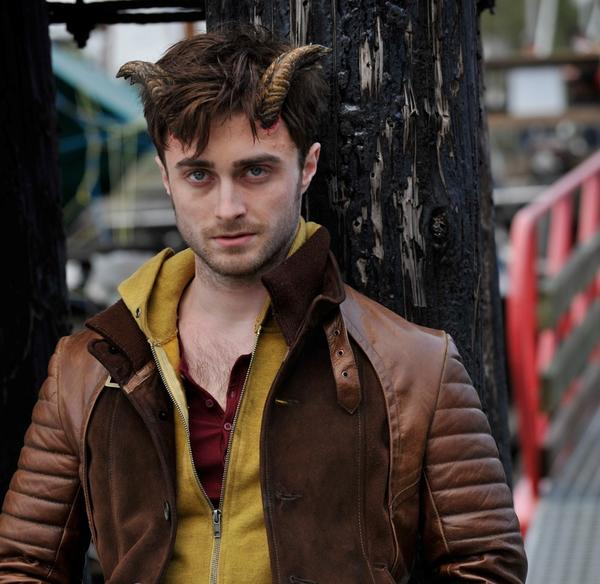 "Daniel Radcliffe stars in the upcoming film ""Horns."" The film, which premiered at the Toronto International Film Festival, has been picked up by distributor Dimension and Radius-TWC"