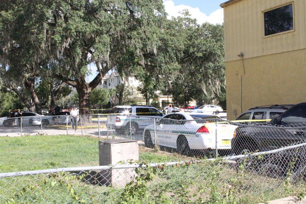 Two teenagers, including a football player, were shot outside Agape Christian Academy, a Pine Hills Christian school Friday, Oct. 4, 2013, Orange County Sheriffs officials said.