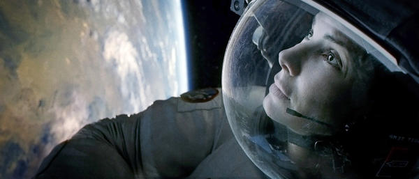 "Sandra Bullock as Ryan Stone in Warner Bros. Pictures' dramatic 3-D thriller ""Gravity,"" a Warner Bros. Pictures release."