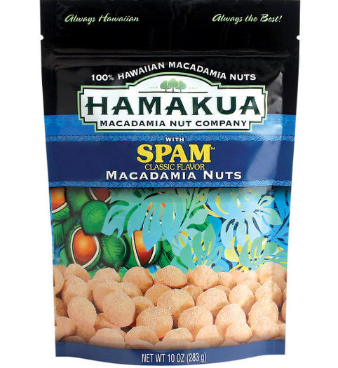 SPAM-flavored nuts exist