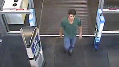 Orange County deputies are looking for a man who they say shot cellphone pictures under little girls' skirts at Best Buy.
