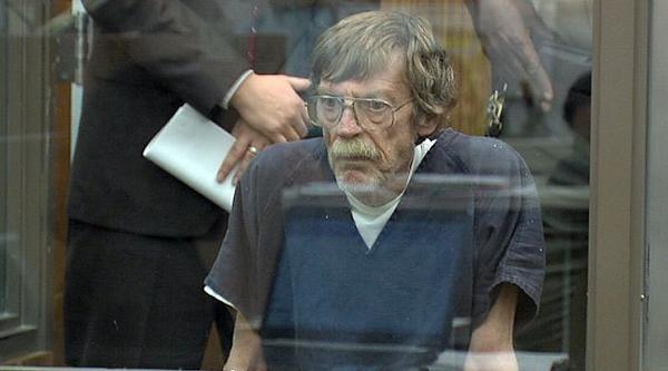 Frederick Hengl at his arraignment on charges of killing his wife and dismembering her body.