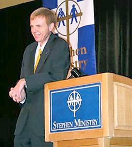 Kenneth C. Haugk, founder and Executive Director of Stephen Ministries.