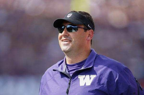 Washington Coach Steve Sarkisian's 'cool' week will get even better if the Huskies pull off an upset against Stanford on Saturday.