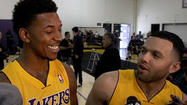 Friendship brings Nick Young, Jordan Farmar together on the Lakers