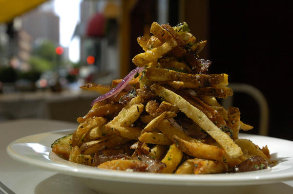 Tuscan fries served at Coco Pazzo Cafe (636 N. St. Clair Street) in Chicago.