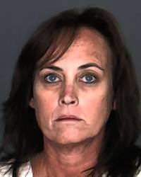 Accountant Judith Oakes, 49, is suspected of embezzling money from the nutrition services department of the Rialto Unified School District.