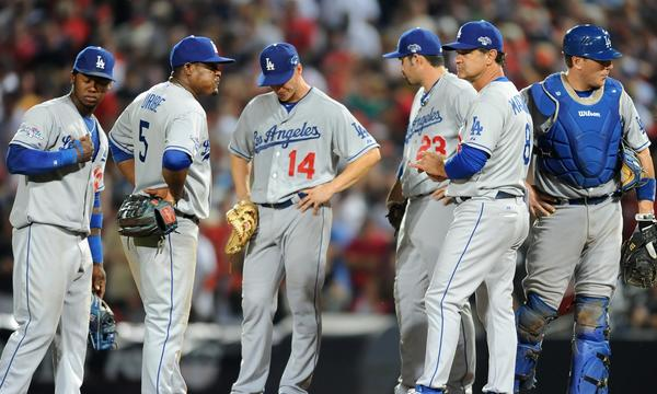 Dodgers Manager Don Mattingly's late-game strategy against the Atlanta Braves on Friday may have been the deciding factor behind the 4-3 loss.