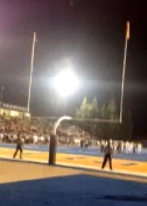 Chaminade's game-winning field goal in their 46-43 victory over Sherman Oaks Notre Dame on Friday night.