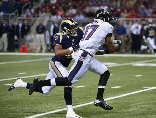 <b>Several Ravens involved in position battles made standout plays.</b>