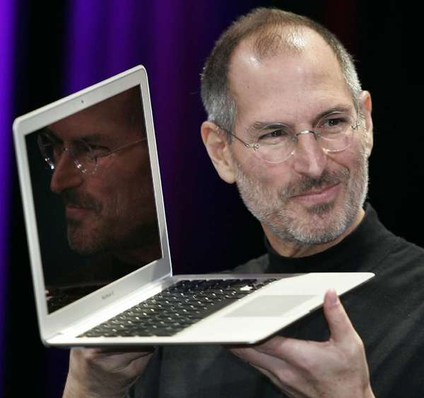 Steve Jobs. He was a god or something in the old days, wasn't he?
