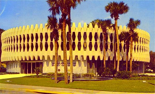 When Orlando's 'Round Building' debuted in 1963 as the home of American Federal Savings & Loan Association, it had only two floors. In recent years, the nonprofit Nils M. Schweizer Fellows have led efforts to save and reuse the cast-concrete panels that circle the building, which will be torn down as part of plans for the new Dr. Phillips Center for the Performing Arts. A 'Preservation for Reuse' party on Oct. 9 seeks to further efforts to save the panels.