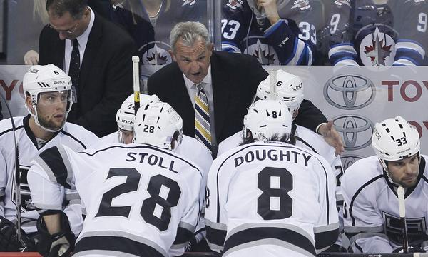 Kings Coach Darryl Sutter isn't getting too excited about the team's home opener against the New York Rangers.