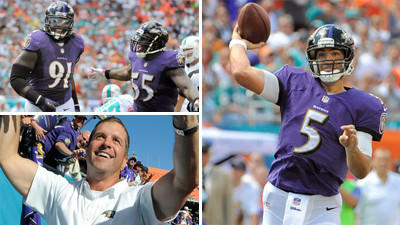 Mike Preston grades the Ravens' 26-23 win on the road over the …