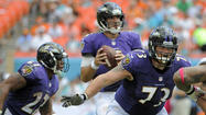 Joe Flacco took a licking and kept on ticking