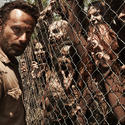 Rick and the walkers