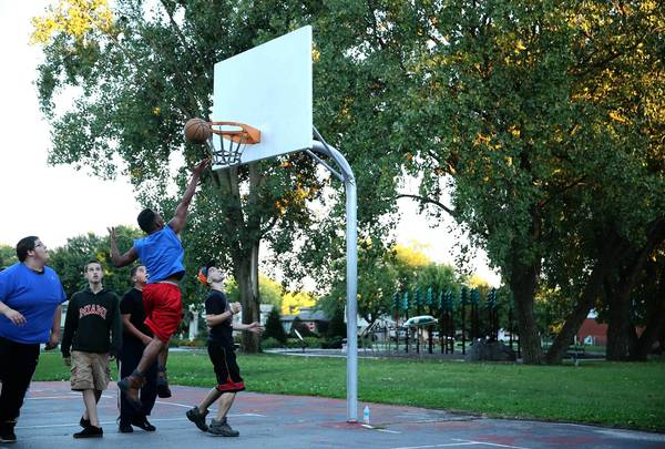 Some neighbors say the basketball court at Little Wolfe Park in Oak Lawn has been the source of teen disturbances, including an August brawl.
