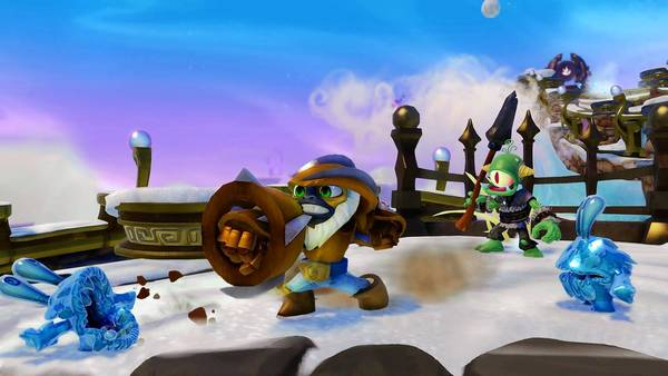 """Skylanders SWAP Force Grilla Jet"" is among Activision's titles."
