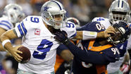 Broncos take advantage of Tony Romo miscue to win, 51-48