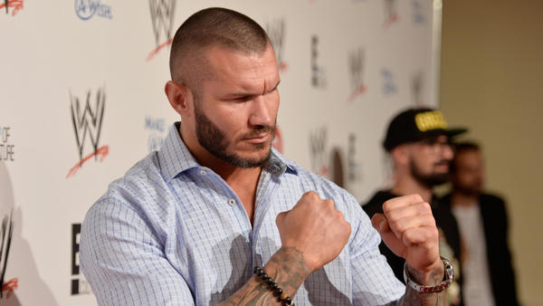 "WWE wrestler Randy Orton attends WWE & E! Entertainment's ""SuperStars For Hope"" at the Beverly Hills Hotel."