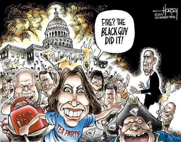 David Horsey | The Black Guy Did It / www.trbimg.com