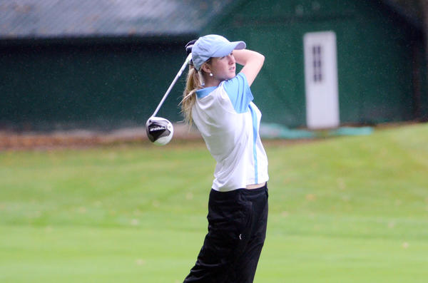 Petoskey's Tai Miller shot a team-best 95 and placed fourth overall Friday at a Big North Conference match play event at the Traverse City Country Club.