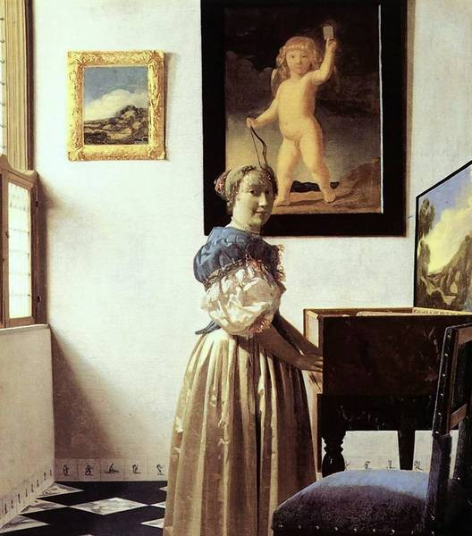 """The newest in the """"Exhibition on Screen"""" series of filmed overviews of art shows from galleries around the world is """"Vermeer & Music: The Art of Love."""""""