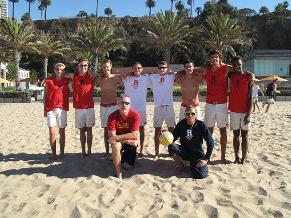 Redondo's championship beach volleyball team.
