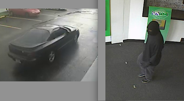 FBI releases more photos of a getaway car used in a Pembroke Pines bank robbery