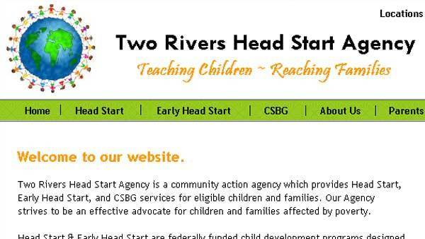 From the Two Rivers Head Start Agency website