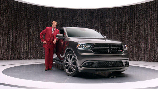 Ron Burgundy and the Dodge Durango