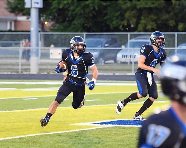 Running back Grant Paley has been a force for Highland Park this season.