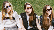 Haim top the pop charts in England