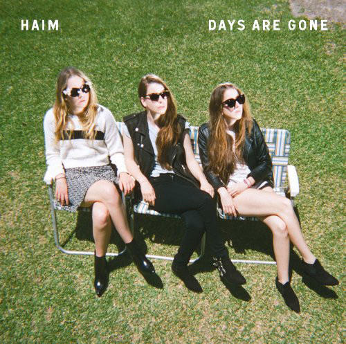 "Haim album cover for debut ""Days Are Gone."""