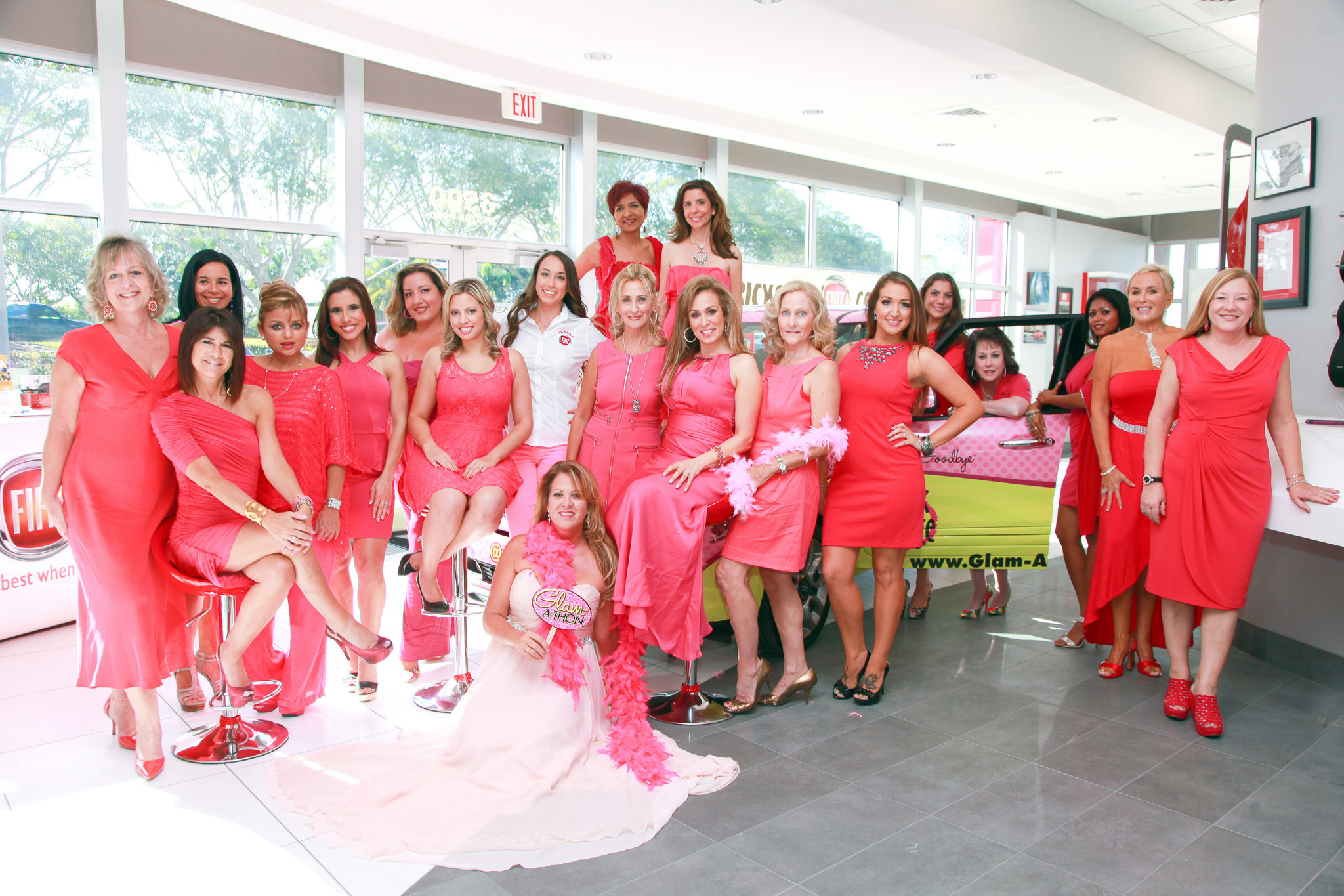 Society Scene photos - The ladies of Glam-A-Thon