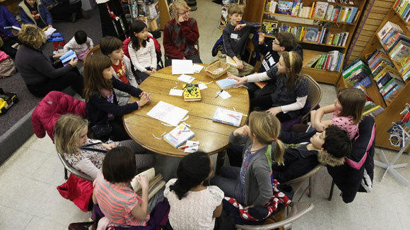 A kids book club meets at Women's and Children First bookstore at 5233 N. Clark St., in January.