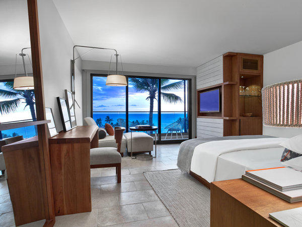 Andaz guests can choose from nearly 300 rooms and suites at the new beachfront resort in south Maui.