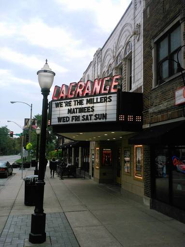 The La Grange Theatre is a prominent example of publicly funded projects in La Grange. The village has formed the La Grange 2020 task force to help plan future efforts.