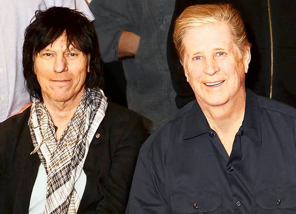 Brian Wilson and Jeff Beck play the Oakdale Friday night, Oct. 1, at 7:30.