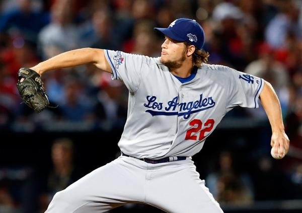 Clayton Kershaw will start Game 4 for the Dodgers tonight.