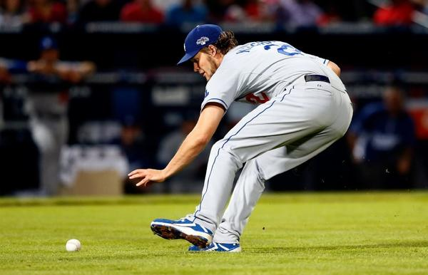 Moving Clayton Kershaw up to start Game 4 seems to be a hasty move by the Dodgers.