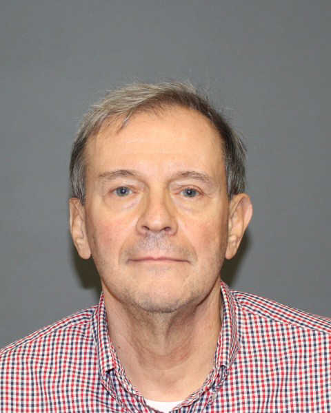 Joseph Callahan, arrested Monday in connection with stockpiled guns and explosives at his Fairfield house.
