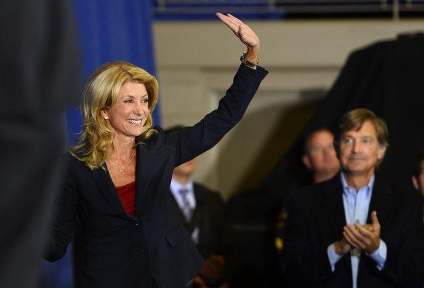 Wendy Davis runs for Texas governor.